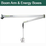 Boom Arms and Energy Boxes