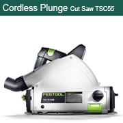 Cordless Plunge-Cut Saw TSC 55