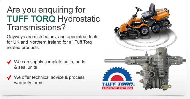 TUFF TORQ Hydrostatic Transmissions