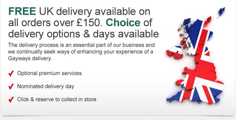 Free UK delivery available