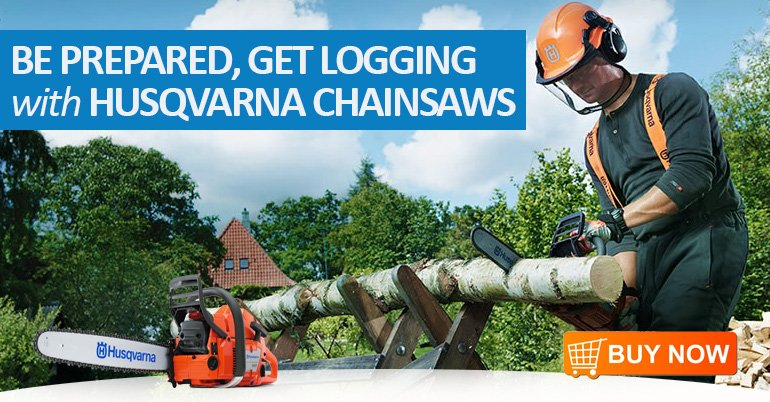 HUSQVARNA CHAINSAW SEASON DEAL