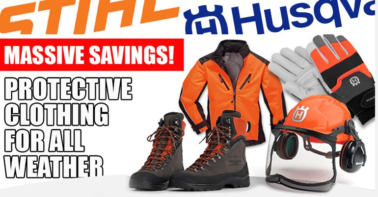 PPE PROMO STIHL AND HUSQVARNA