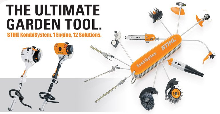 STIHL KOMBI UNIT AND ACC