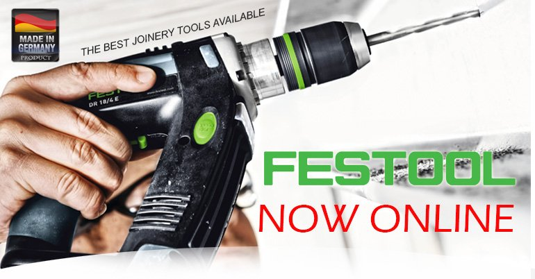 FESTOOL ONLINE NOW