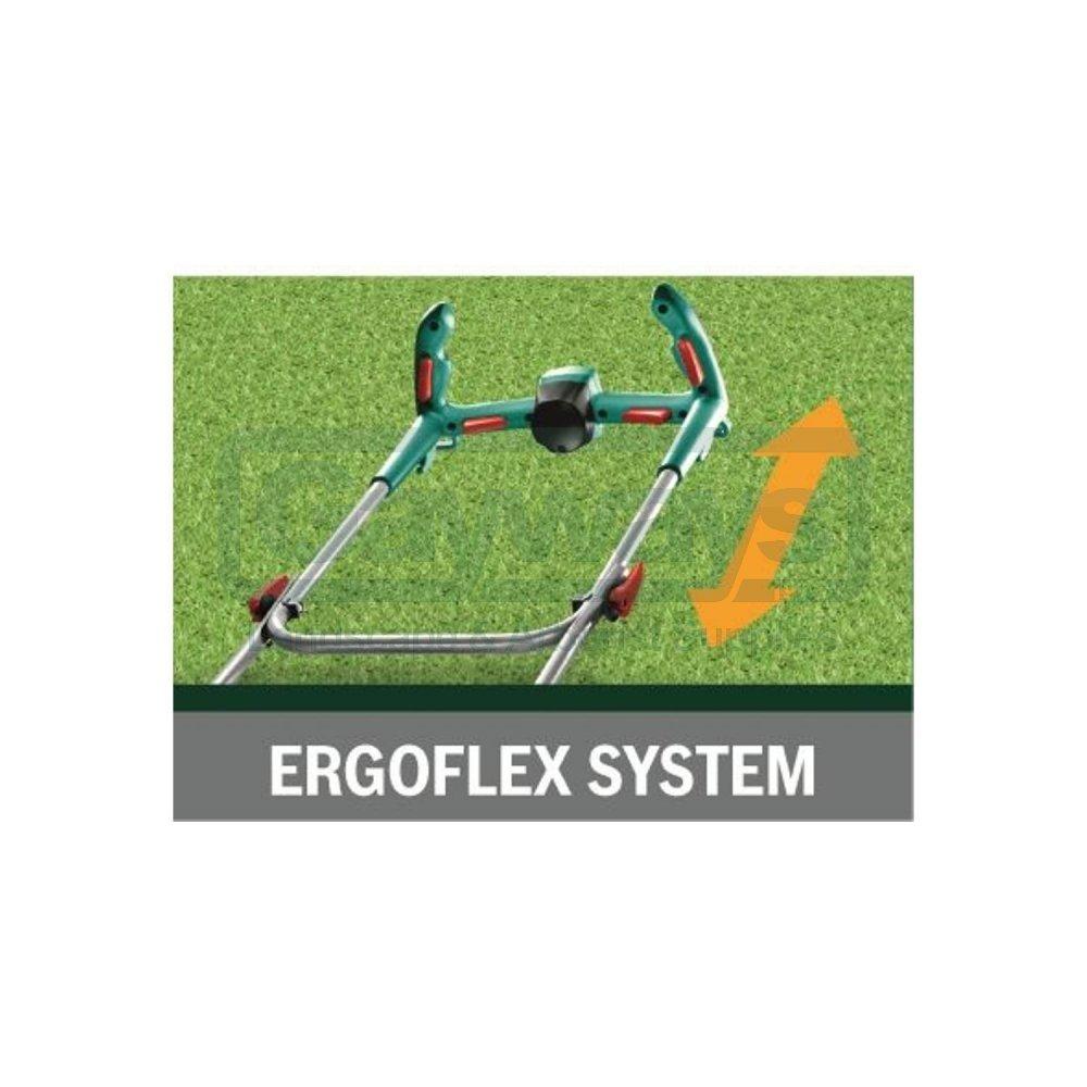 Rotak 32 Ergoflex Electric Push Four Wheeled Lawnmower