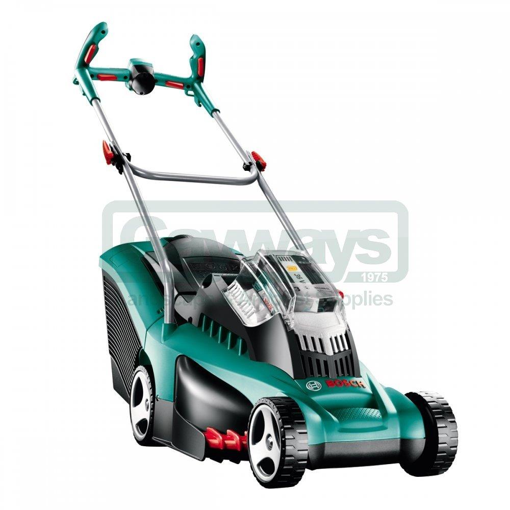 rotak 37 li ergoflex cordless lawnmower battery charger not included from gayways uk. Black Bedroom Furniture Sets. Home Design Ideas