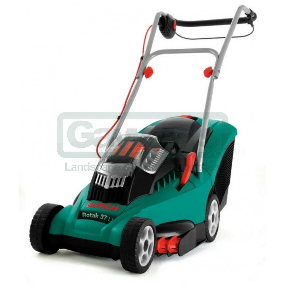 rotak 37 li ergoflex cordless lawnmower from gayways uk. Black Bedroom Furniture Sets. Home Design Ideas
