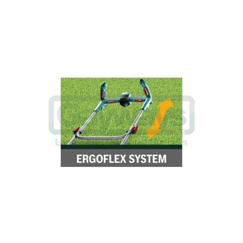 Rotak 40 Ergoflex Electric Push Four Wheeled Lawnmower