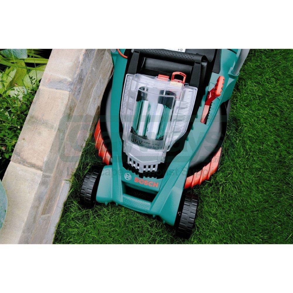 rotak 43 li ergoflex cordless lawnmower from gayways uk. Black Bedroom Furniture Sets. Home Design Ideas