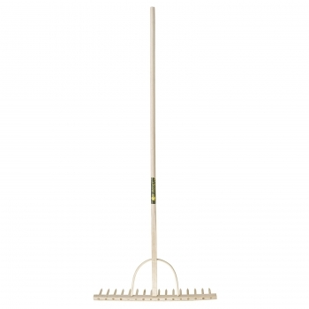 BULLDOG Hay Rake (Wood Head)
