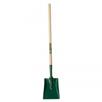 "BULLDOG Square Mouth Shovel 48"" Long Ash Handle"