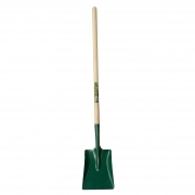 "Square Mouth Shovel 48"" Long Ash Handle"