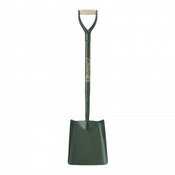 BULLDOG Square Mouth Shovel No2. (All Metal)