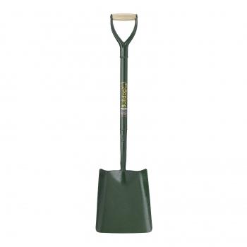 BULLDOG Square Mouth Shovel No2. (All Metal)