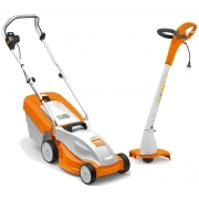 Electrical Mower + Strimmer