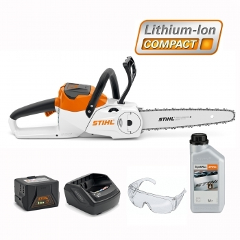DEALS STIHL Battery MSA 120 C-BQ Chainsaw Kit + FREE CHAIN OIL