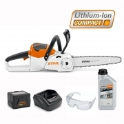 STIHL Battery MSA 120 C-BQ Chainsaw Kit + FREE CHAIN OIL