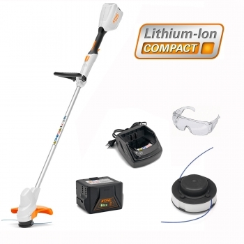 DEALS STIHL  FSA 56 Cordless Grass Trimmer Kit FREE GOOGLES + FREE SPOOL