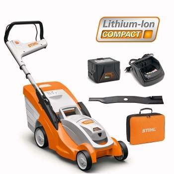 DEALS STIHL RMA 339C Battery Lawnmower + Battery & Charger + FREE Bag For Battery + FREE BLADE