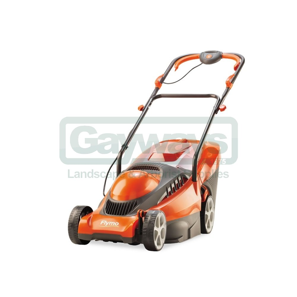flymo chevron 37c electric wheeled rotary lawnmower. Black Bedroom Furniture Sets. Home Design Ideas