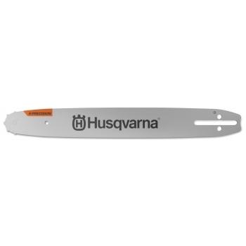 """HUSQVARNA 14"""" X-Precision Laminated Bar .325"""" mini PIXEL 1.1mm Small Bar mount 59 Links Chain"""