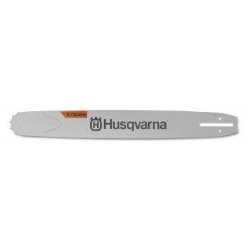 "HUSQVARNA 18"" X-TOUGH Solid Bar 3/8"" 1.5mm/.058"" RSN Large Bar mount 68 Links Chain"