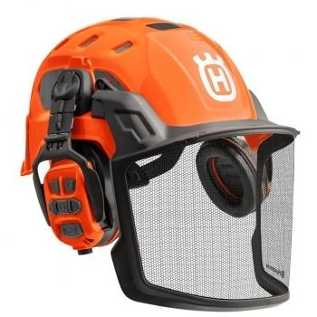 HUSQVARNA Technical Forest Helmet With X-com R