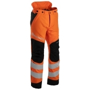 HUSQVARNA Waist Trousers Hi-Viz Technical