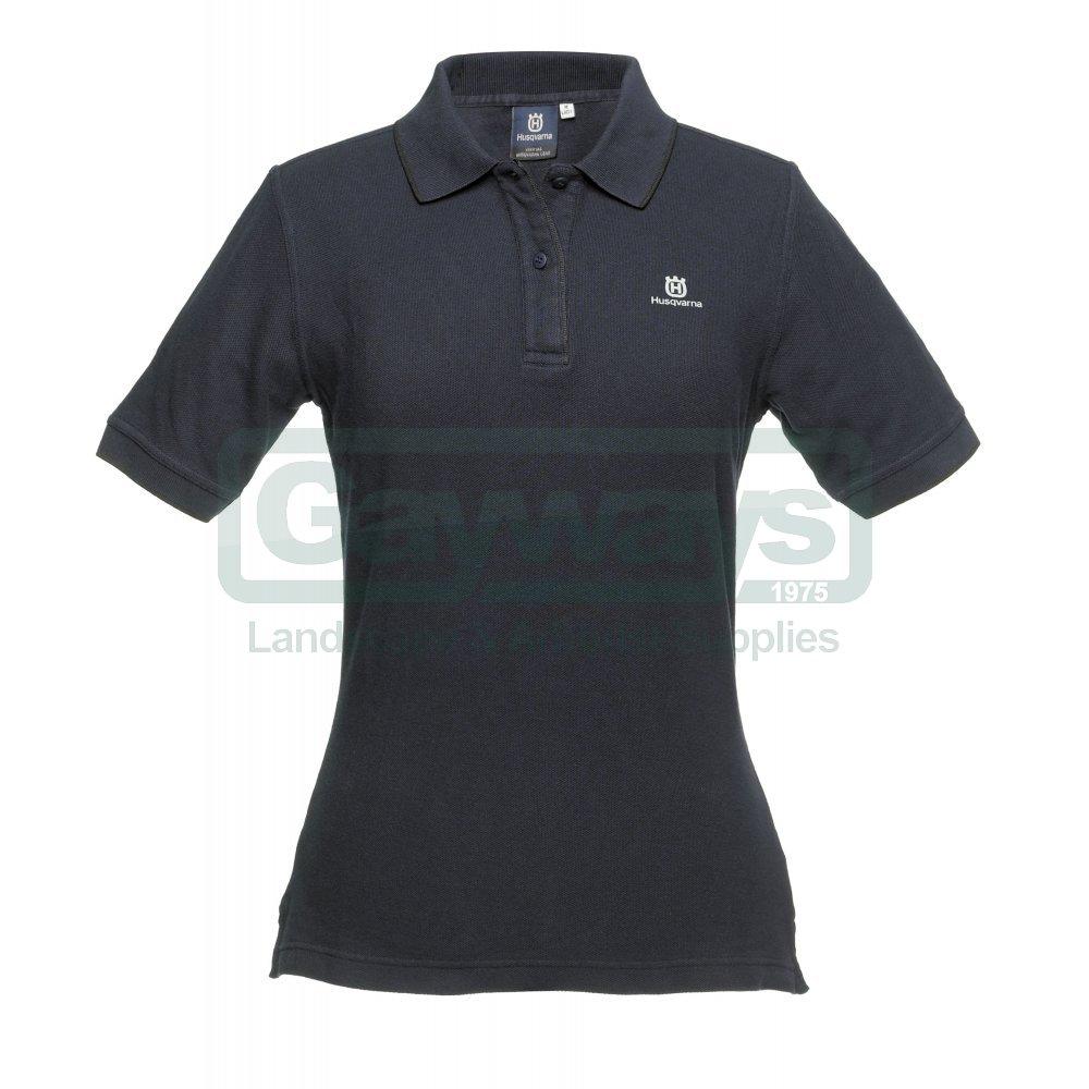 c940766d5 HUSQVARNA Womens Polo Shirt - HUSQVARNA from Gayways UK