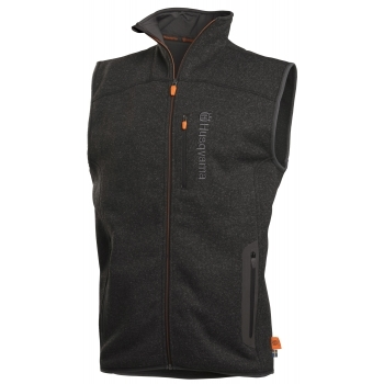 HUSQVARNA Xplorer Fleece Vest Men Granite Grey