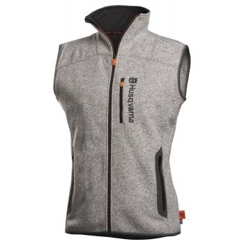 HUSQVARNA Xplorer Fleece Vest Women Steel Grey