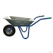 Wheelbarrow 140 L galvanised