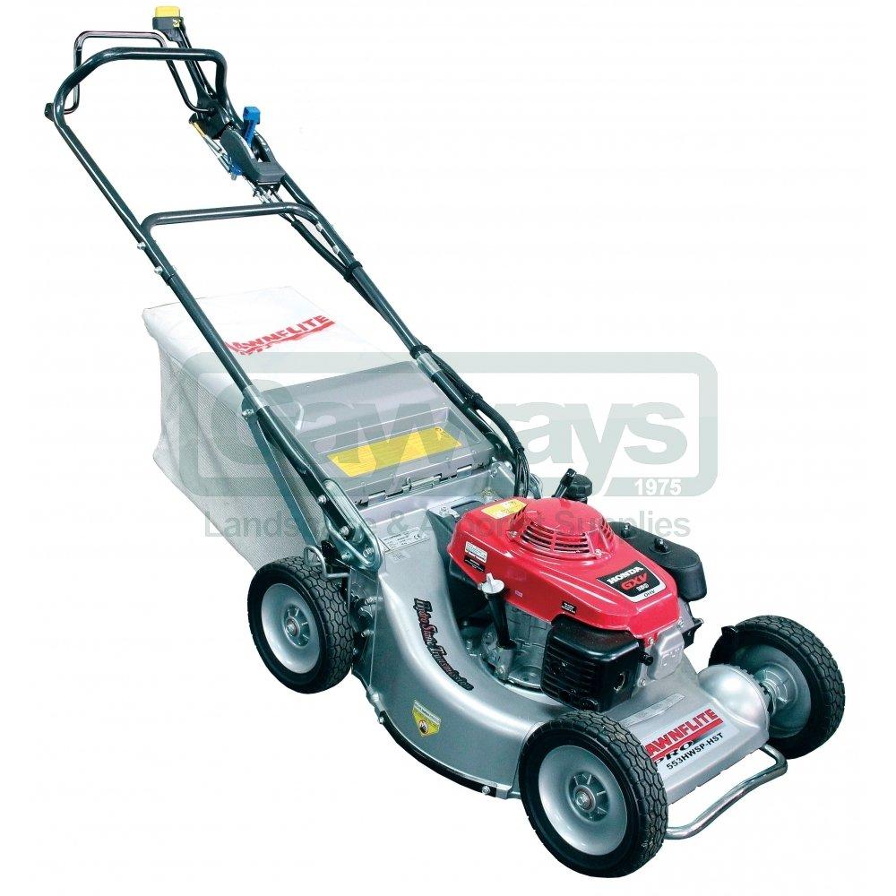 Lawnflite Lawnflite Petrol Lawnmower 553hwsp Hst