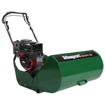 MASPORT Olympic 10 Bladed Golf Petrol Cylinder Lawnmower