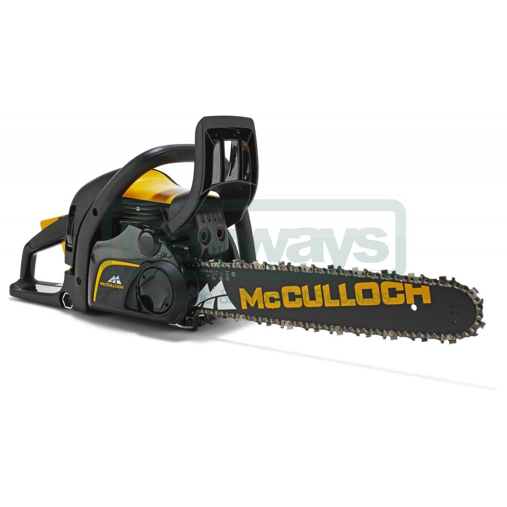 mcculloch cs 410 elite chainsaw from gayways uk. Black Bedroom Furniture Sets. Home Design Ideas