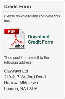 Credit Form