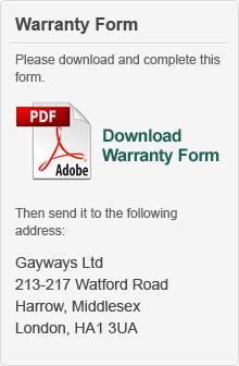 Warranty Form