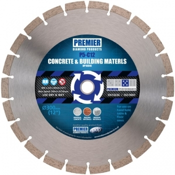 PREMIER DIAMOND Diamond Blade for Concrete & Building Materials