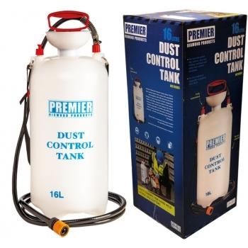 PREMIER DIAMOND Dust Control Tank 16 Litre - Dust Suppression Water Bottle