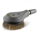 Rotating wash brush for < 800 l/h machines, natural bristles