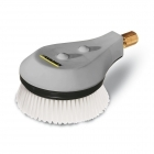 Rotating wash brush for < 800 l/h machines, nylon bristles
