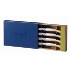 Box of 4 Chic Table Knives - Ash Wood (Polished Blade)
