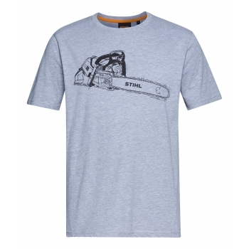 STIHL Grey MS500i Chainsaw T-Shirt