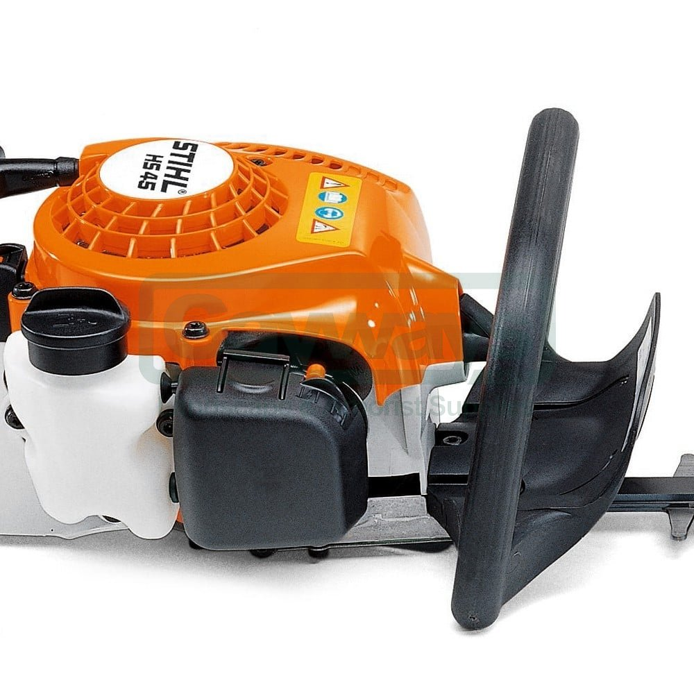 stihl stihl hs 45 petrol hedge trimmer 18 24 stihl. Black Bedroom Furniture Sets. Home Design Ideas