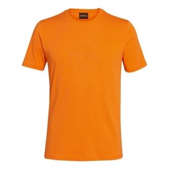 STIHL Logo Circle orange T-shirt