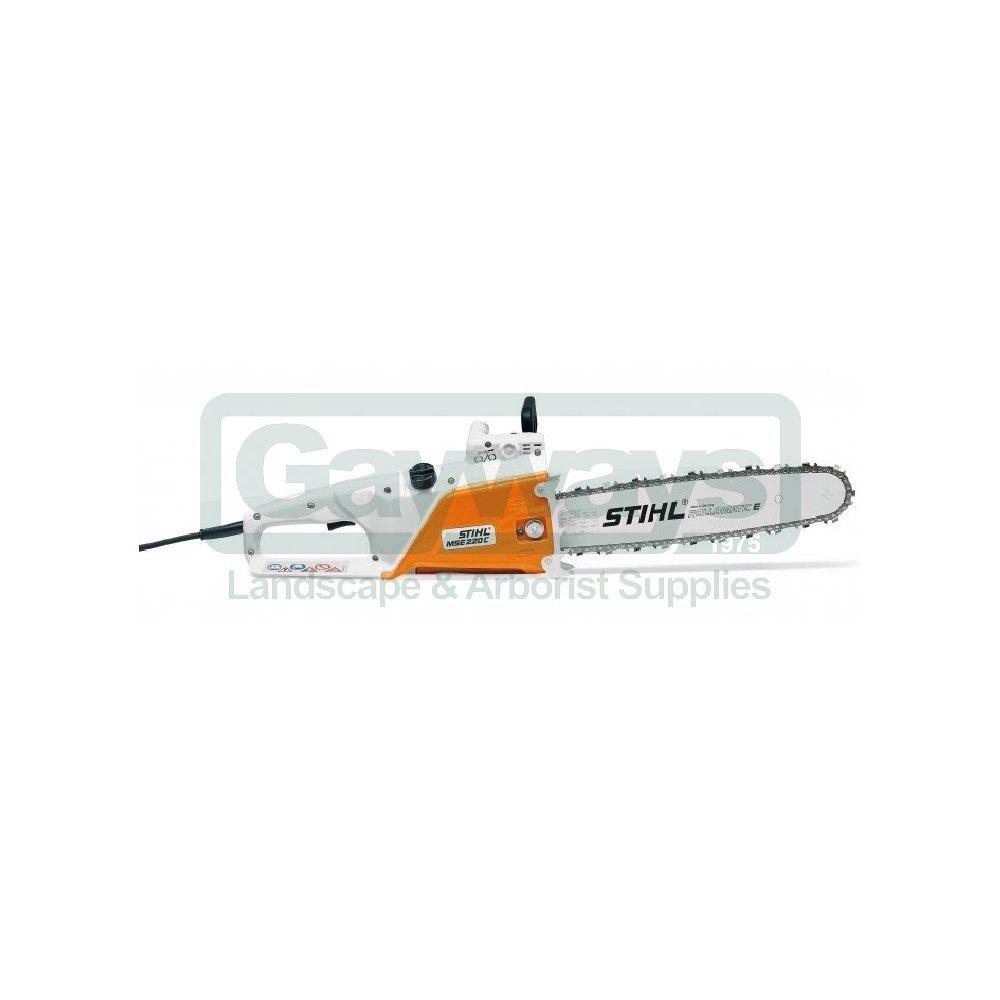 STIHL MSE220 C-Q Electric Chainsaw - STIHL from Gayways UK