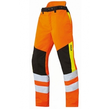 STIHL Protect MS cut protection and high-visibility trousers
