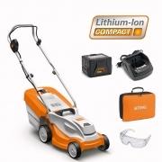 STIHL RMA 235 Battery Lawnmower + Battery & Charger + FREE Bag For Battery & Charger + FREE Goggles