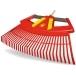 WOLF GARTEN 4-in-1 Rake Multi-Change® Leaf Rake